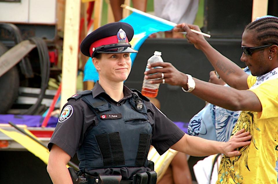 Toronto Caribana: Fuck the police