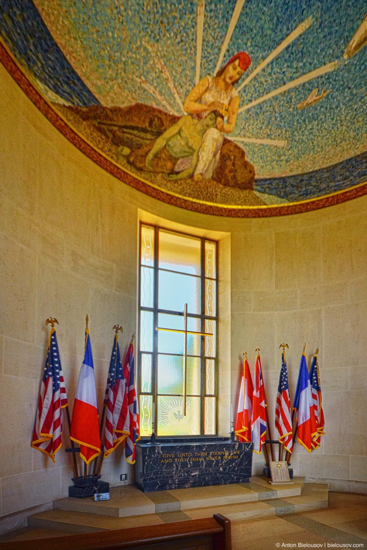 Normandy American Cemetery Chapel