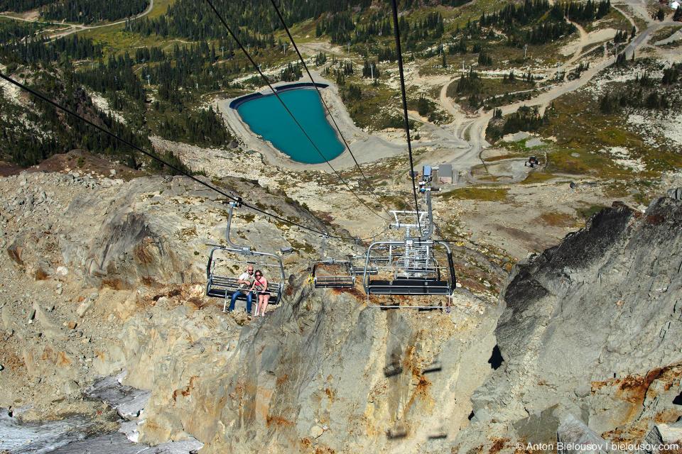 Whistler Mountain Peak Chairlift