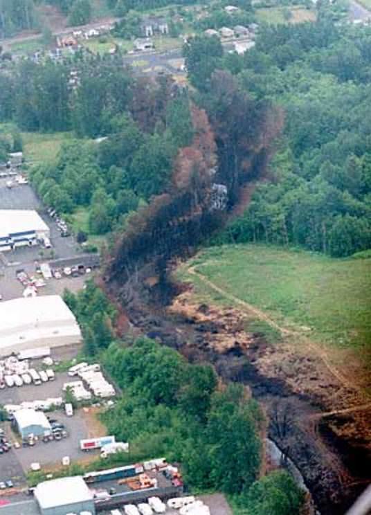 1999 Olympic Pipeline Explosion in Whatcom Creek (Bellingham, WA)