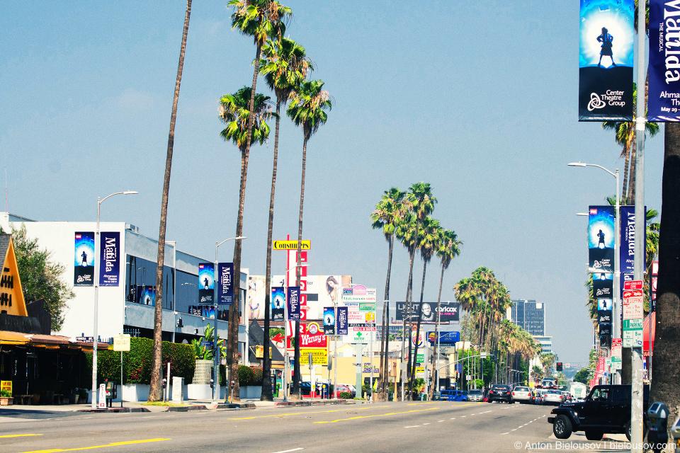Sunset Blvd., Hollywood