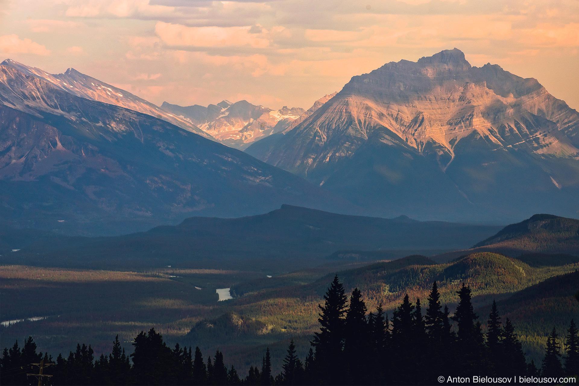 Jasper National Park landscape